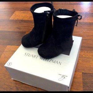 Stuart weitzman baby girls lowland boots 0-3 m